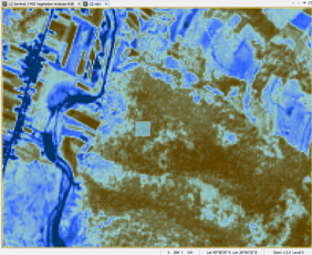 3. Analyzing the relations between Marteloscope data and Copernicus data Analyzing Vegetation indexes from Sentinel 2 data NDVI relations - 1